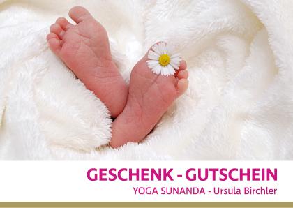 Geschenkgutschein-Geburt