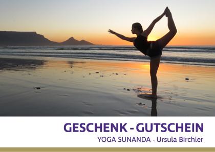 Geschenkgutschein-Yoga